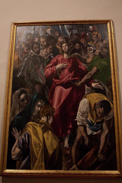 museo santa cruz el greco
