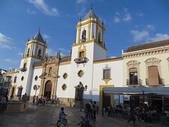 Ronda, Spain - Plaza del Socorro area