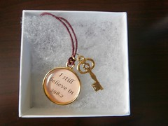 Sherburne Memorial Library posted a photo:	charm necklace