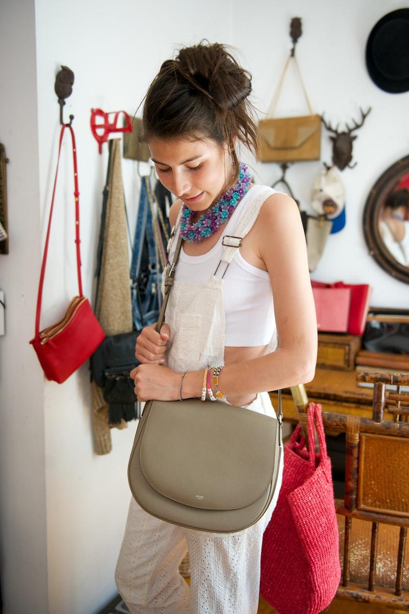Celine satchel bag