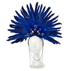 Bindi Princess Feather Headpiece