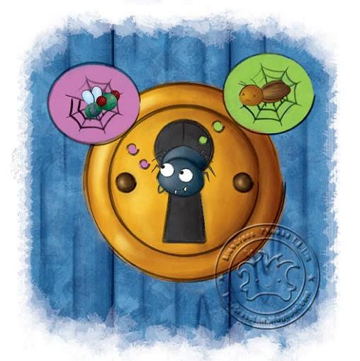 "TU Weekly #06 cover ""鑰匙孔裡的蜘蛛"" - 2010"