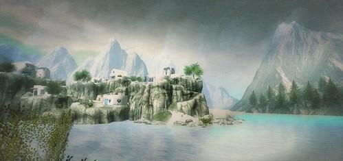 a greek dream  - Somewhere in sl 698 (Garlic Breath at Melee Island UNDER CONSTRUCTION , Ai Atoll (218, 166, 41))