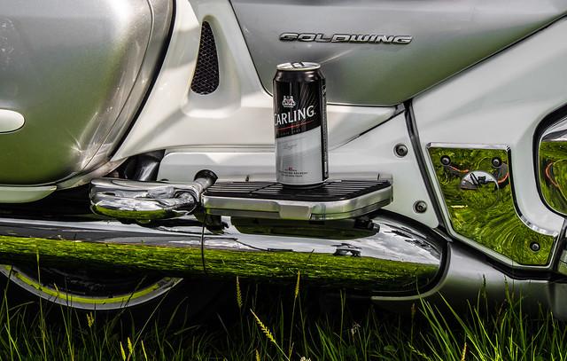 Goldwing n Carling. Bikes n Beer.