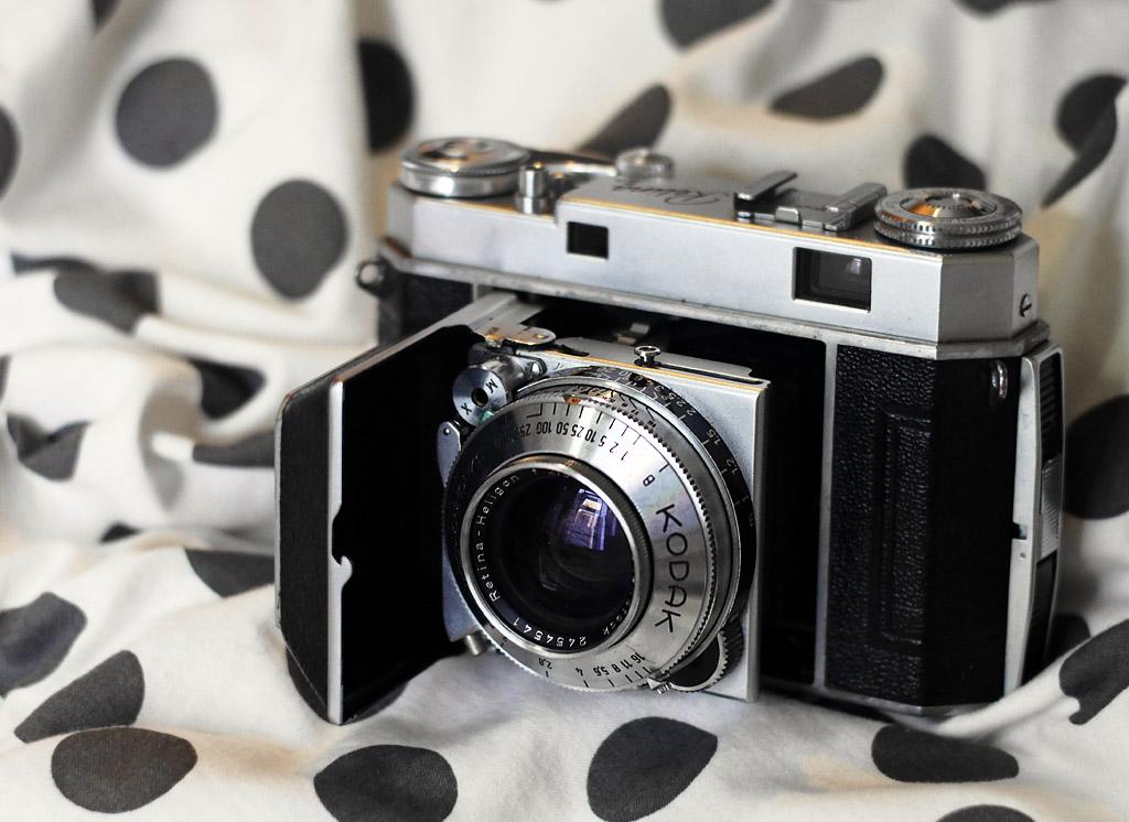 Kodak Retina IIa with Rodenstock Heligon 50/2
