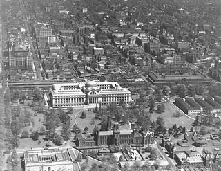 Aerial Photograph of Pennsylvania Avenue in Washington, DC, 05/23/1929