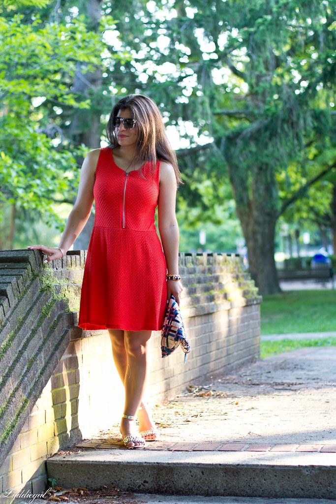 orange dress, woven clutch-1.jpg