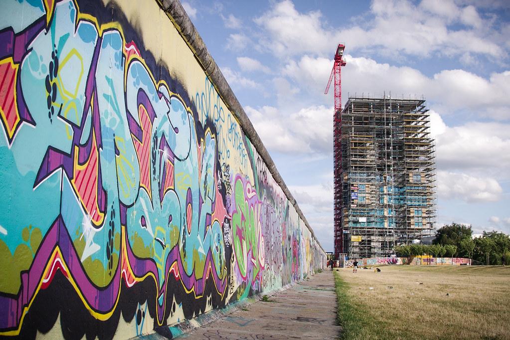 Visiter Berlin - East side gallery