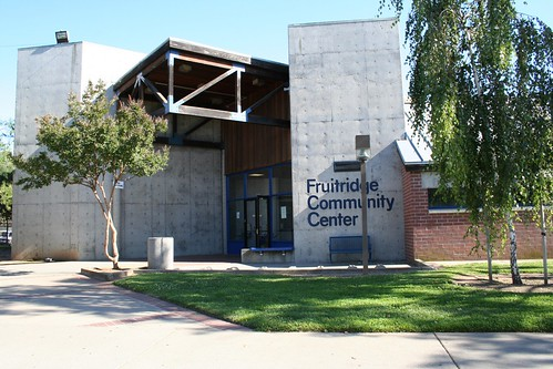 Front of Fruitridge Community Center