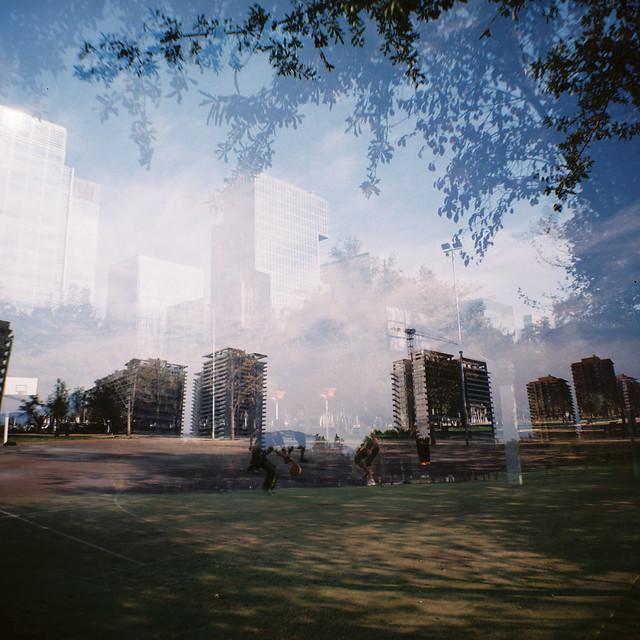 parque araucano doble exposición