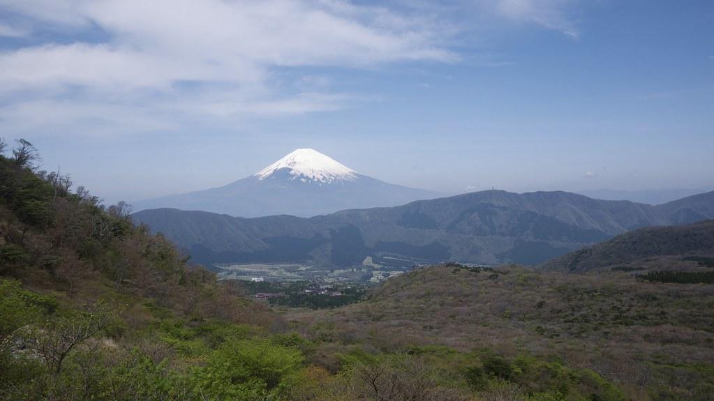 Mount Fuji from Owakudani