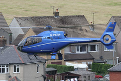 G-PERF - 2012 build Eurocopter EC120B Colibri, visiting Buxton for Hillhead 2014