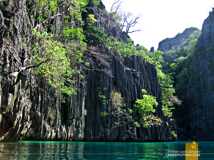 Inside Twin Lagoon at Coron Island