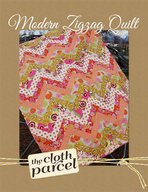 Modern Zigzag Quilt Pattern Giveaway