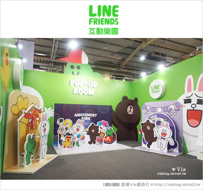 【台中line展2014】LINE台中展開幕囉!趕快來去LINE FRIENDS互動樂園玩耍去!(圖爆多)63