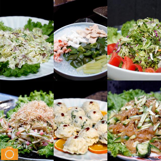 Yanagi salads