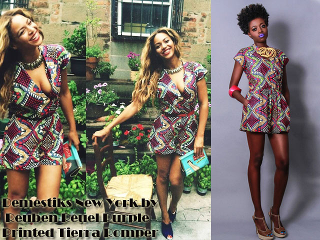 Demestiks-New-York-by-Reuben-Reuel-Purple-Printed-Tierra-Romper, Reuben Reuel Purple Printed Tierra Romper, ankara romper, kitenge romper, African print romper, chitenge romper, ankara playsuit, kitenge playsuit, chitenge playsuit, African print playsuit, printed playsuit, tribal playsuit, tribal romper, Demestiks New York by Reuben Reuel Purple Printed Tierra Romper, ankara jumpsuit, ankara playsuit, ankara jumpsuits, ankara jumpsuit style, kitenge fashion, chitenge skirts, african print fashion pinterest, kitenge wear, ankara skirts, ankara skirt styles, ankara style for sewing, ankara style for wedding, ankara styles tops, ankara tops for wearing pencil skirts, best kitenge designs, best kitenge skirts & tops designs, casual ankara dresses pictures, celebrities stars in ankara fashion, beyonce in African print, beyonce in kitenge, beyonce in ankara, celebs in african prints, chic ankara tops, chitenge, chitenge/kitenge tops and skirts, chitenge jackets, classy dress and top's of kitenge, different cutting of ankara, fashioncadet, fashion kitenge 2014, kitenge designs, kitenge tops,