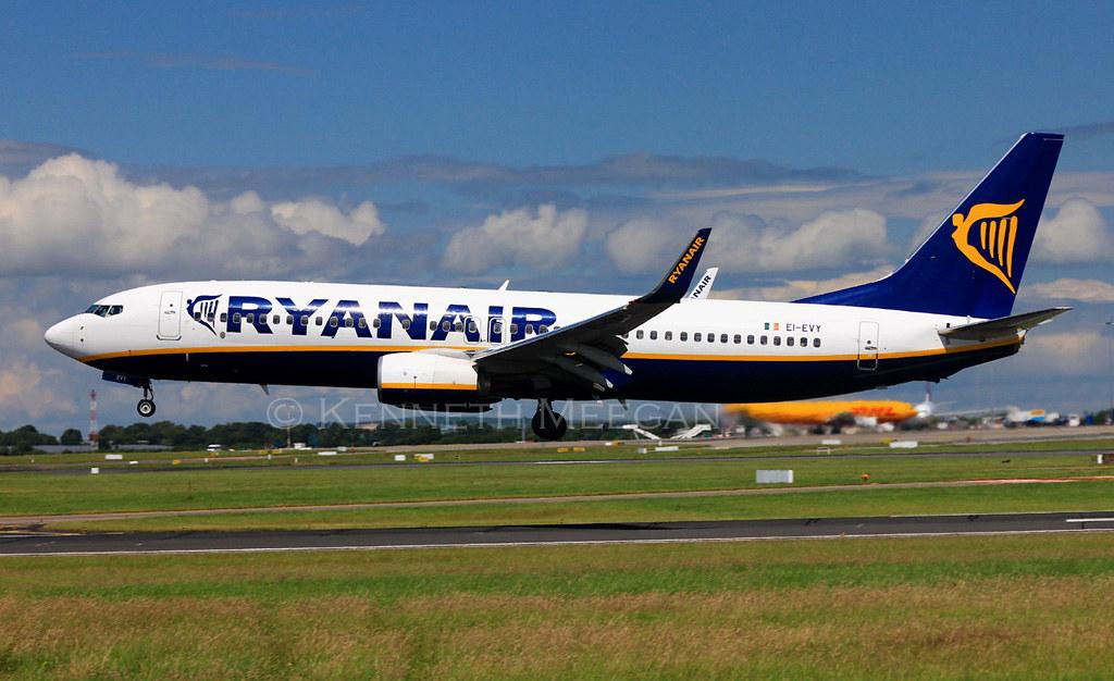 EI-EVY - B738 - Ryanair