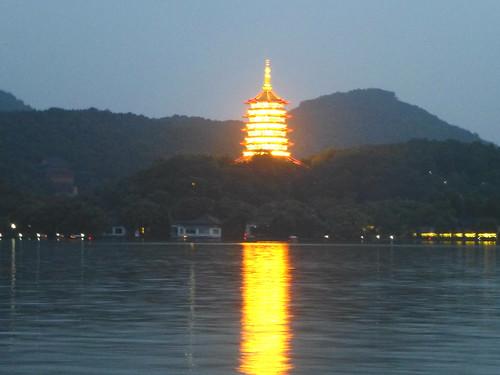 Zhejiang-Hangzhou-Lac Ouest-coucher du soleil 1 (19)