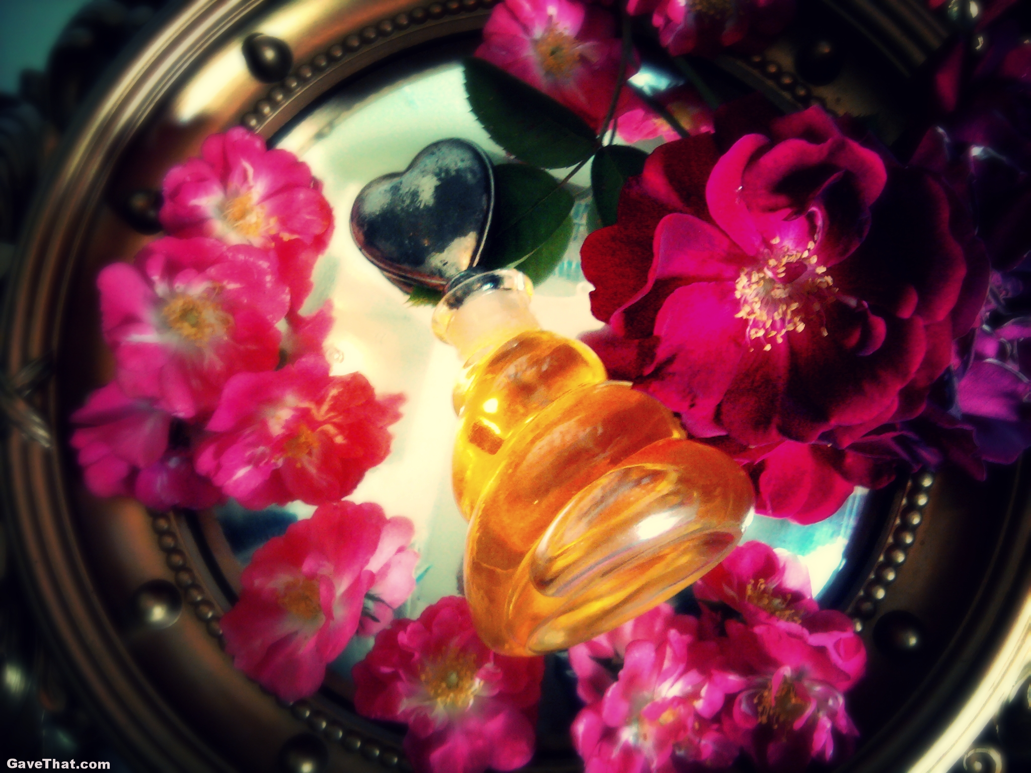 Homemade Rose Perfume on Gift Style Blog Gave That