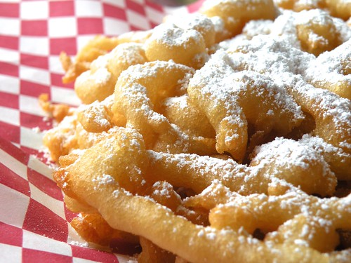 Mrs. Fields Secrets Funnel Cake
