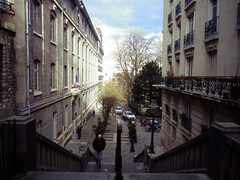 Back streets of Montmartre