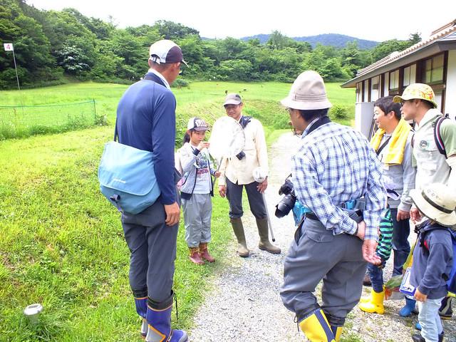 湿原の昆虫観察会