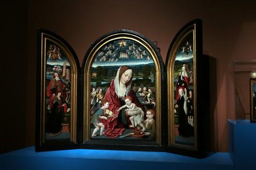 Museo Storico di Amsterdam: uno dei quadri in esposizione