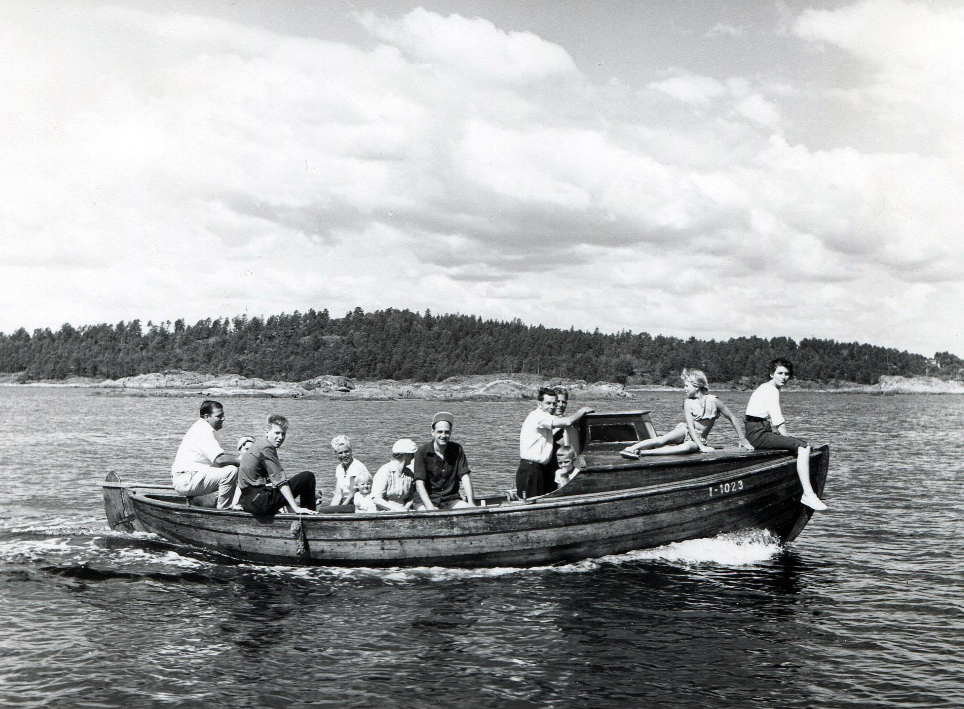 Båtliv ved Arendal
