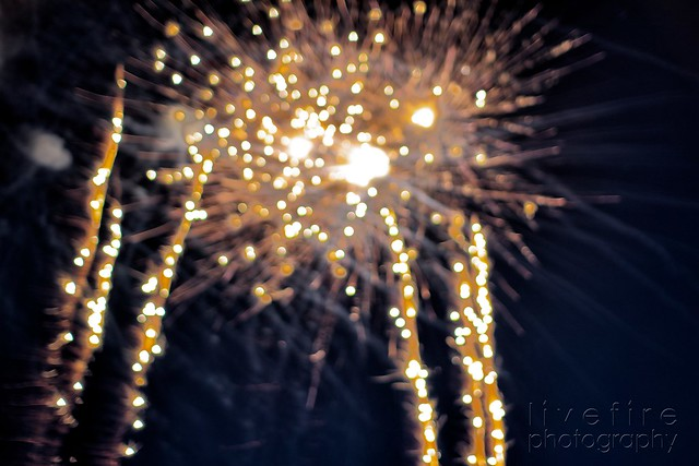 Out of Focus Fireworks