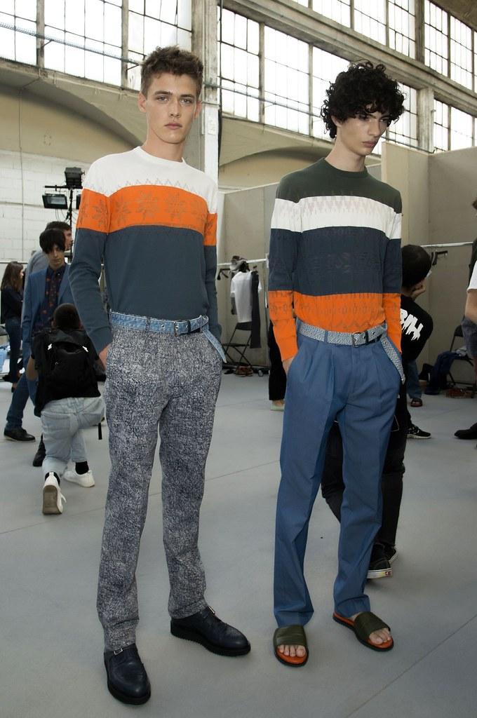 SS15 Paris Krisvanassche212_Billy Vandendooren, Piero Mendez(fashionising.com)