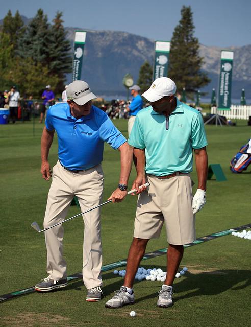 Tony Romo won the celebrity golf tournament on Sunday at ...