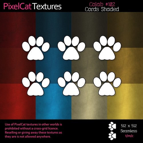 PixelCat Textures - Colab 102 - Cords Shaded