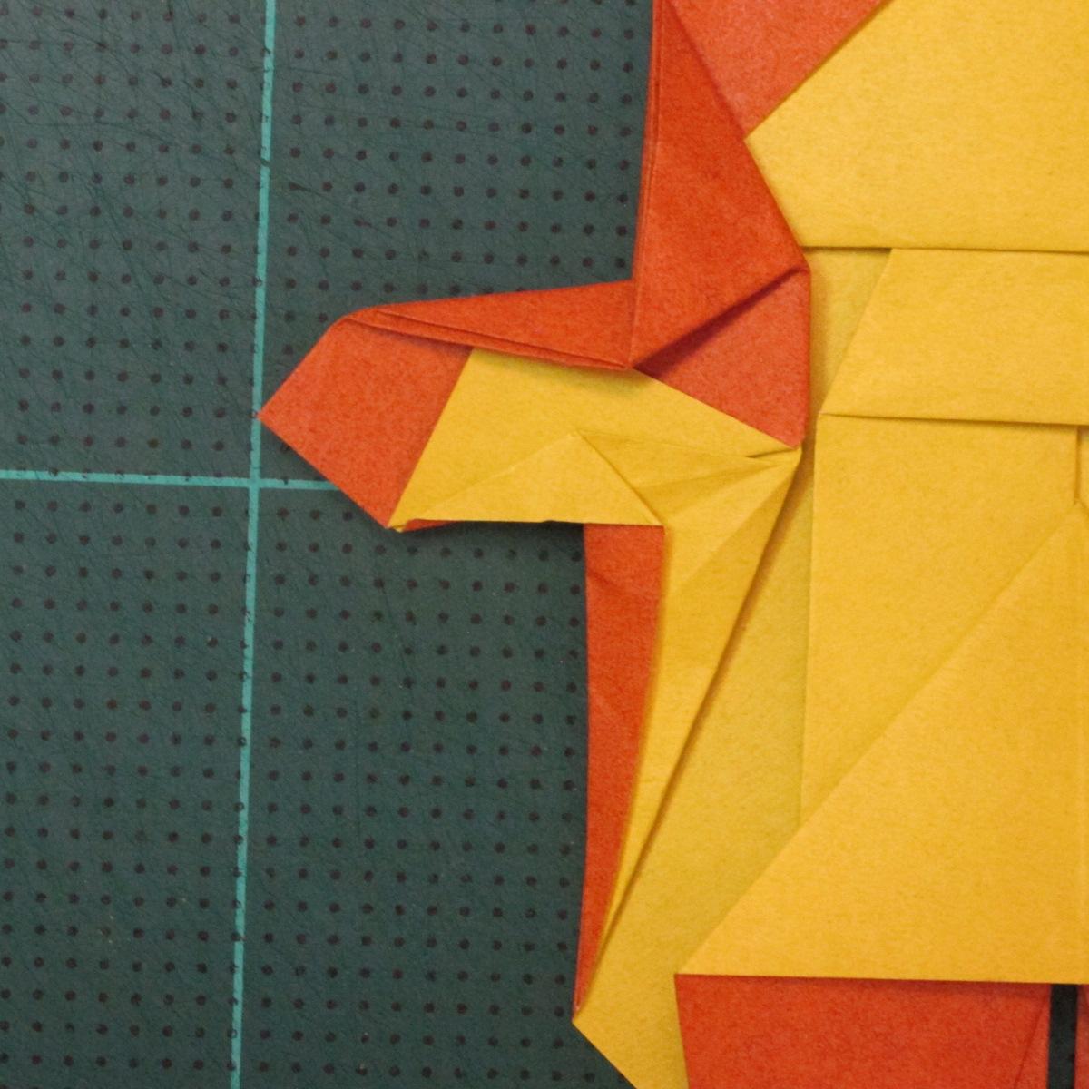 การพับกระดาษเป็นรูปปลาคาร์ฟ (Origami Koi Fish) 028