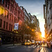 NYC Sunset by Deirdre Hayes