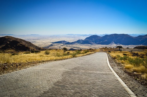 Steepest pass in Namibia: Spreetshoogte