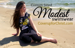 Cover Up for Christ | Custom-Size Modest Swimwear
