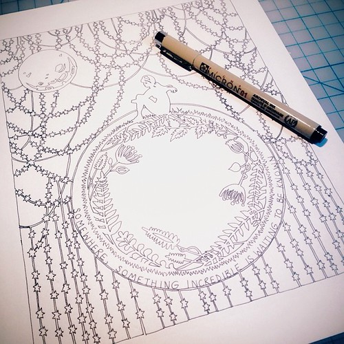 rough-drawing-papercut-cosmos