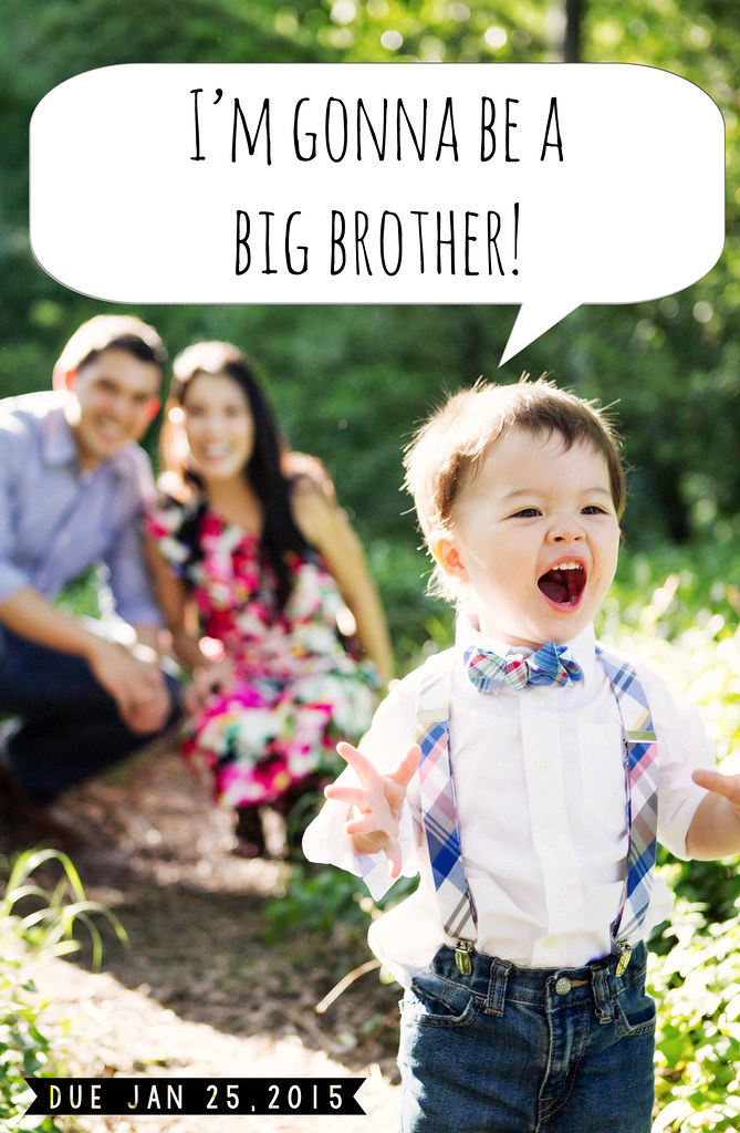 Announcing cute little – Second Baby Announcement Ideas