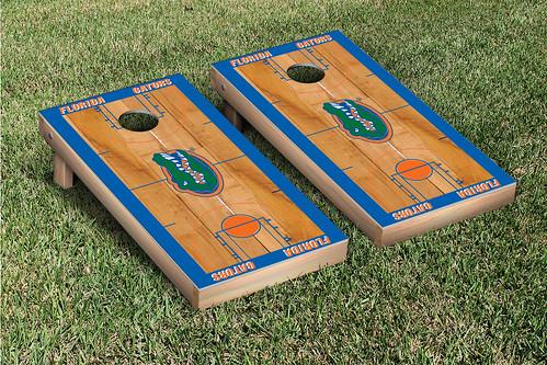 University of Florida Gators UF Cornhole Game Set Basketball