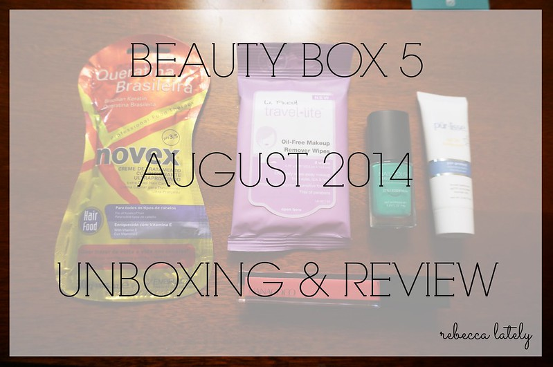Beauty Box 5 August 2014 2