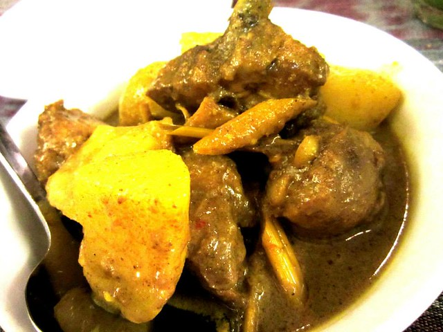 Payung Cafe, Sibu chicken curry
