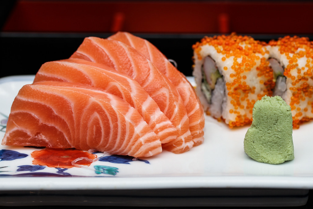古德伍德公园酒店的Shima:生鱼片