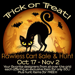 Flawless Cart Sale & Hunt Trick or Treat