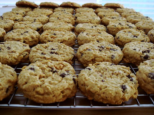 Kinako Chocolate Chip Cookies
