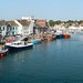 Weymouth harbour panorama