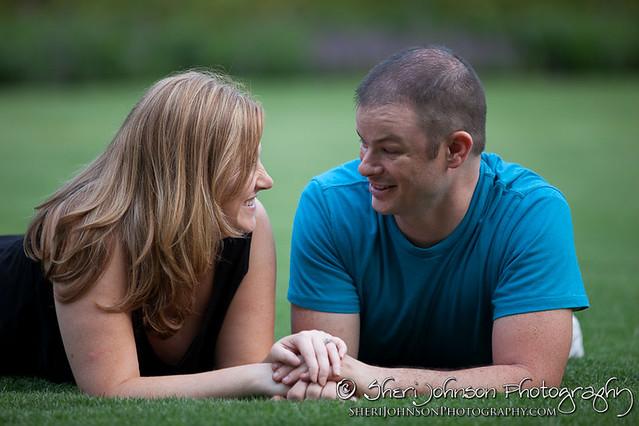 Juanita & Andrew Callaway Gardens Engagement