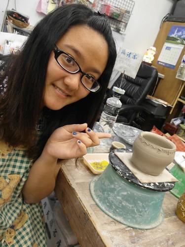 鶯歌自己動手做陶瓷 捏陶畫杯樣樣來13