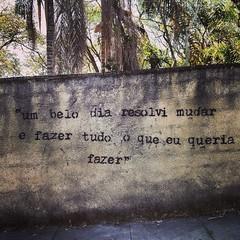 #atibaia #streetart #stencil #RitaLee #sofaltavc #quote