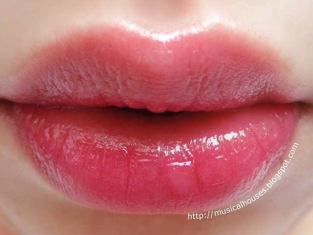 Etude House Color Pop Lip Tint 08 Berry Pop Sheer Lip Swatch